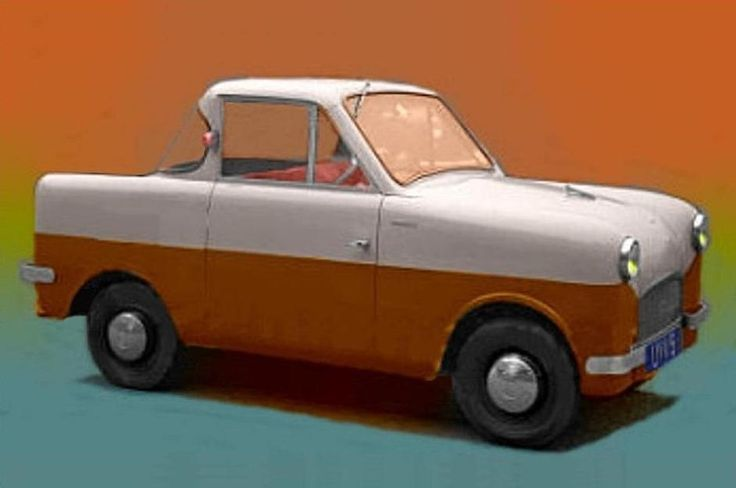 1959 Gill Getabout Coupe (UK) 322cc Twin Cylinder Two-Stroke Air-Cooled 15Hp Engine