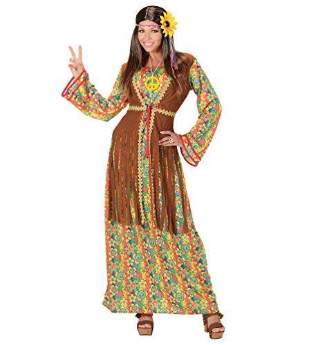 Hippie kleid lang karneval