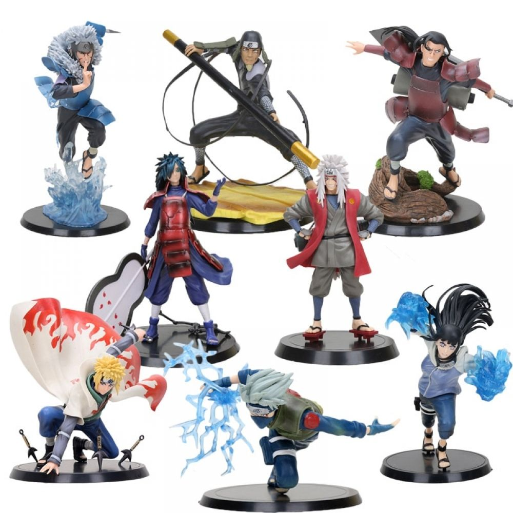Naruto Characters Action Figures | Character actions, Naruto characters,  Anime