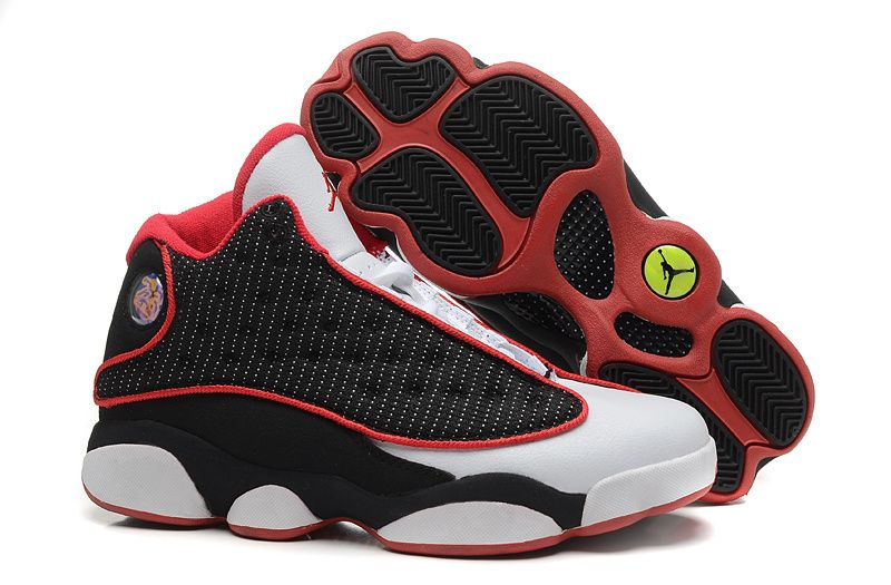 Air Jordan 13 Retro Men Dark Brown Leopard White - White ...