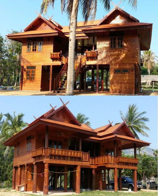 Home Design Thailand: ThaiLanna Home, Buy Your Own (TEAK-wooden) House In