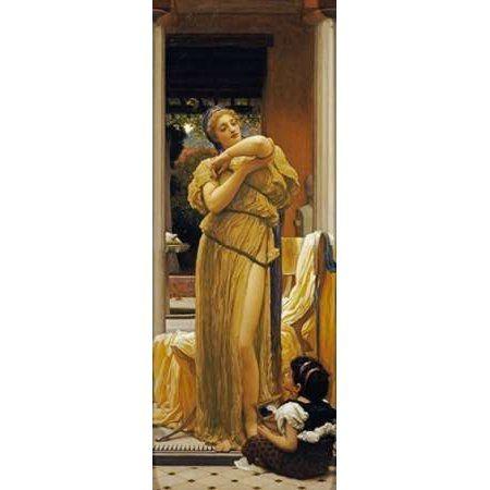 The Bracelet Canvas Art - Lord Frederick Leighton (10 x 20)