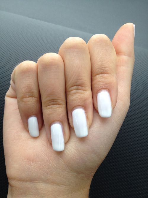 Snow white gel nails nails white diy nail art diy ideas do it snow white gel nails nails white diy nail art diy ideas do it yourself diy nails solutioingenieria Gallery