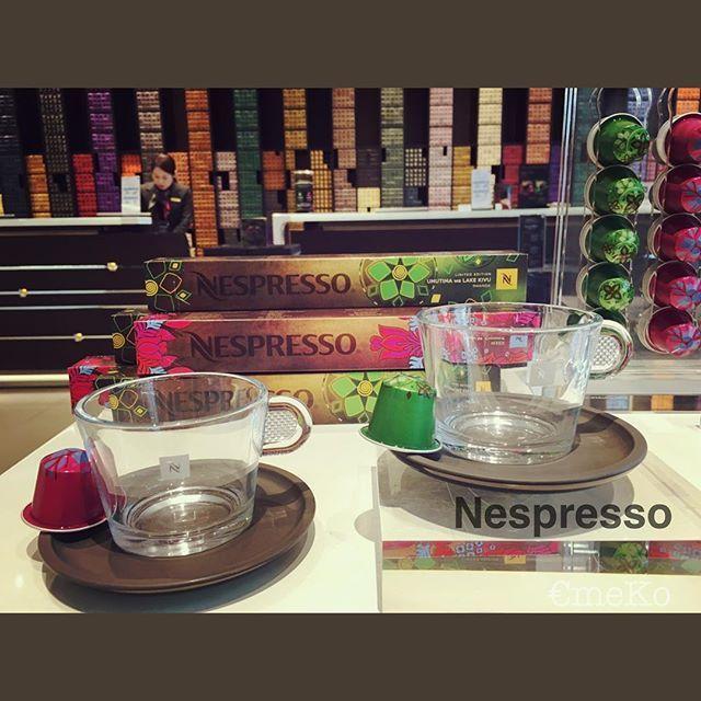 Nespresso #表参道 で #レシピ 体験会に参加してきたよ🎶  2016年春の数量限定コーヒーを使った✨オシャレ✨☕️レシピ☝ #ネスプレッソ #ネスプレッソカプセル #ネスプレッソブティック #instalife #instadaily #instashop #coffee #recipe #限定品 #nespresso #限定コーヒー #コーヒー #コーヒーセミナー
