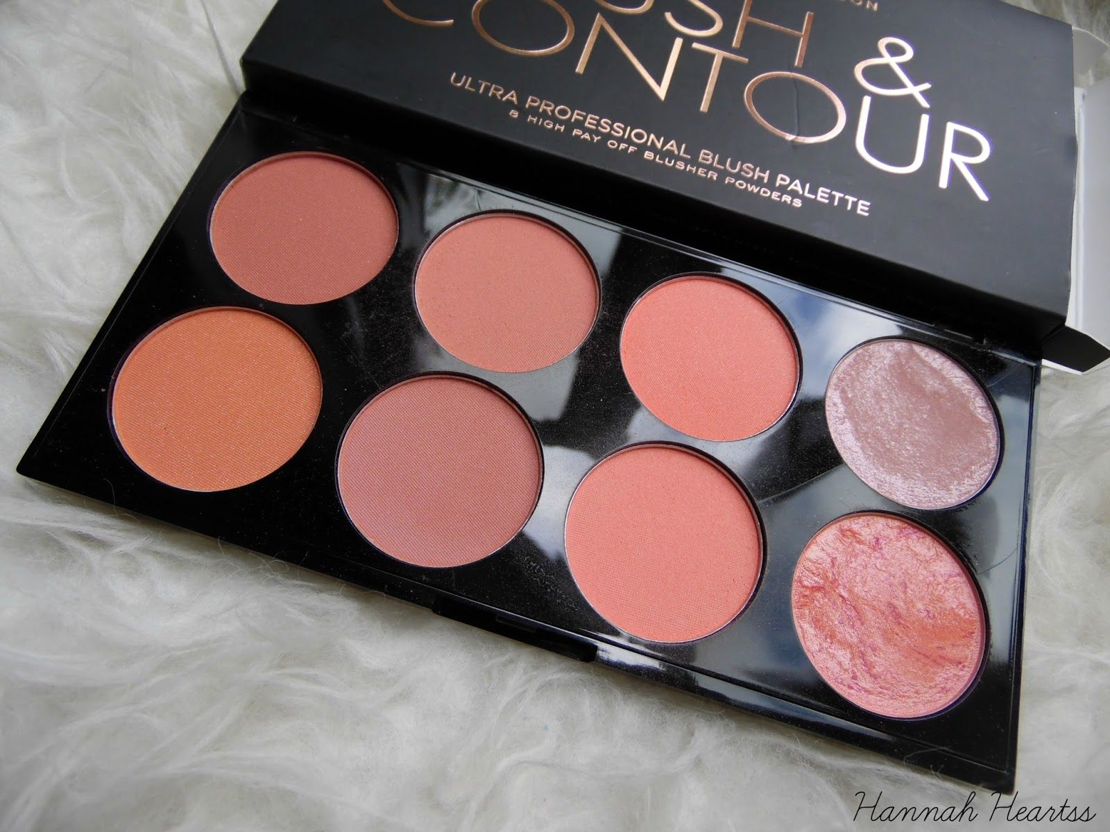 Makeup Revolution Blush & Contour Palette Makeup