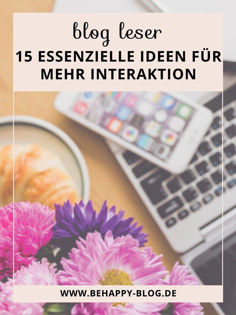 15 Essenzielle Ideen Interaktion