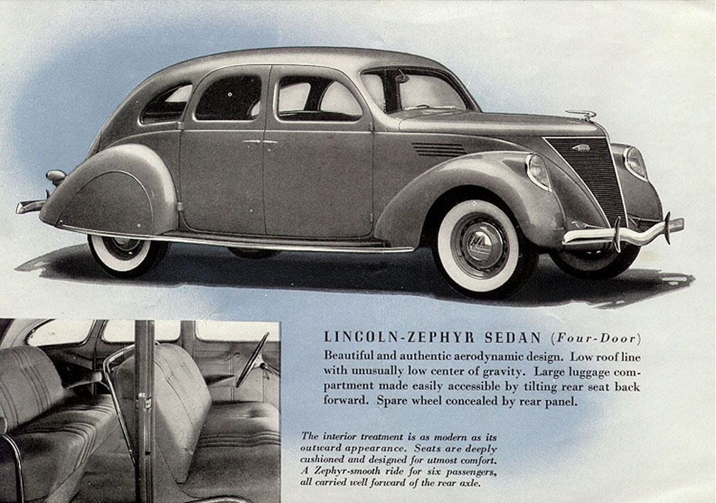 1936 Lincoln Zepher Lincoln Zephyr Lincoln Cars Ford Lincoln