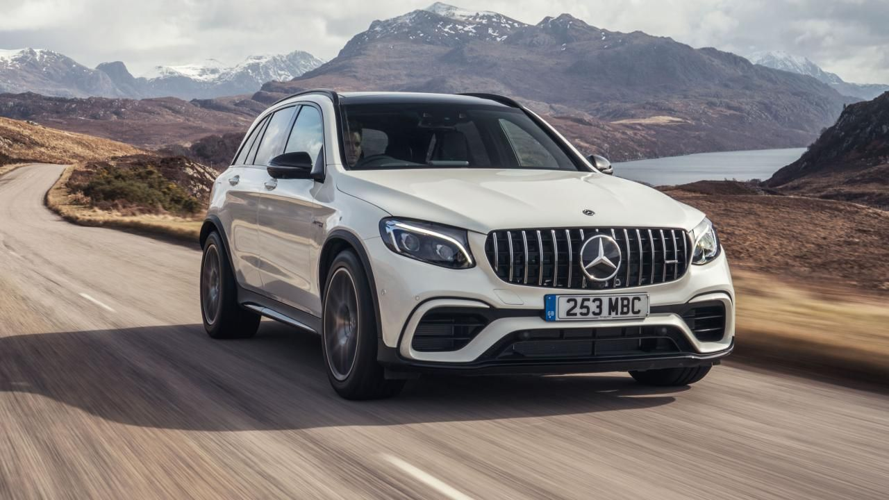 Mercedes Amg Glc63 S Review 503bhp V8 Suv Driven Mercedes Amg