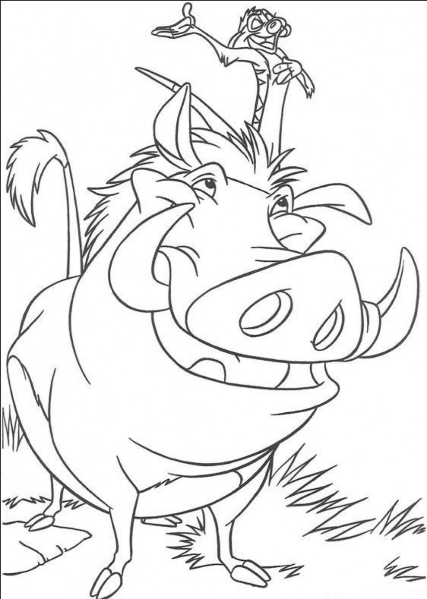 Lion King Coloring Page Coloring Pages Disney Coloring