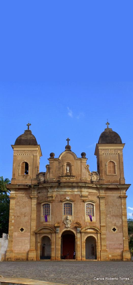 Igreja de São Pedro dos Clérigos Mariana - MG - Brasil
