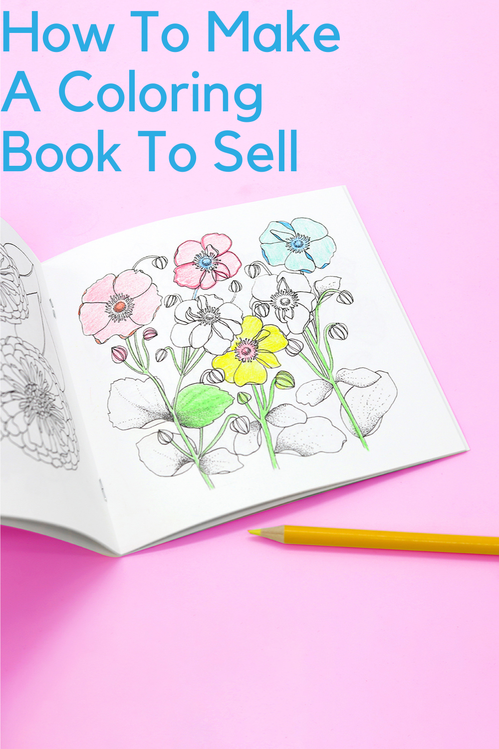 How To Make A Coloring Book To Sell Diy Coloring Books Coloring Books Kids Coloring Books