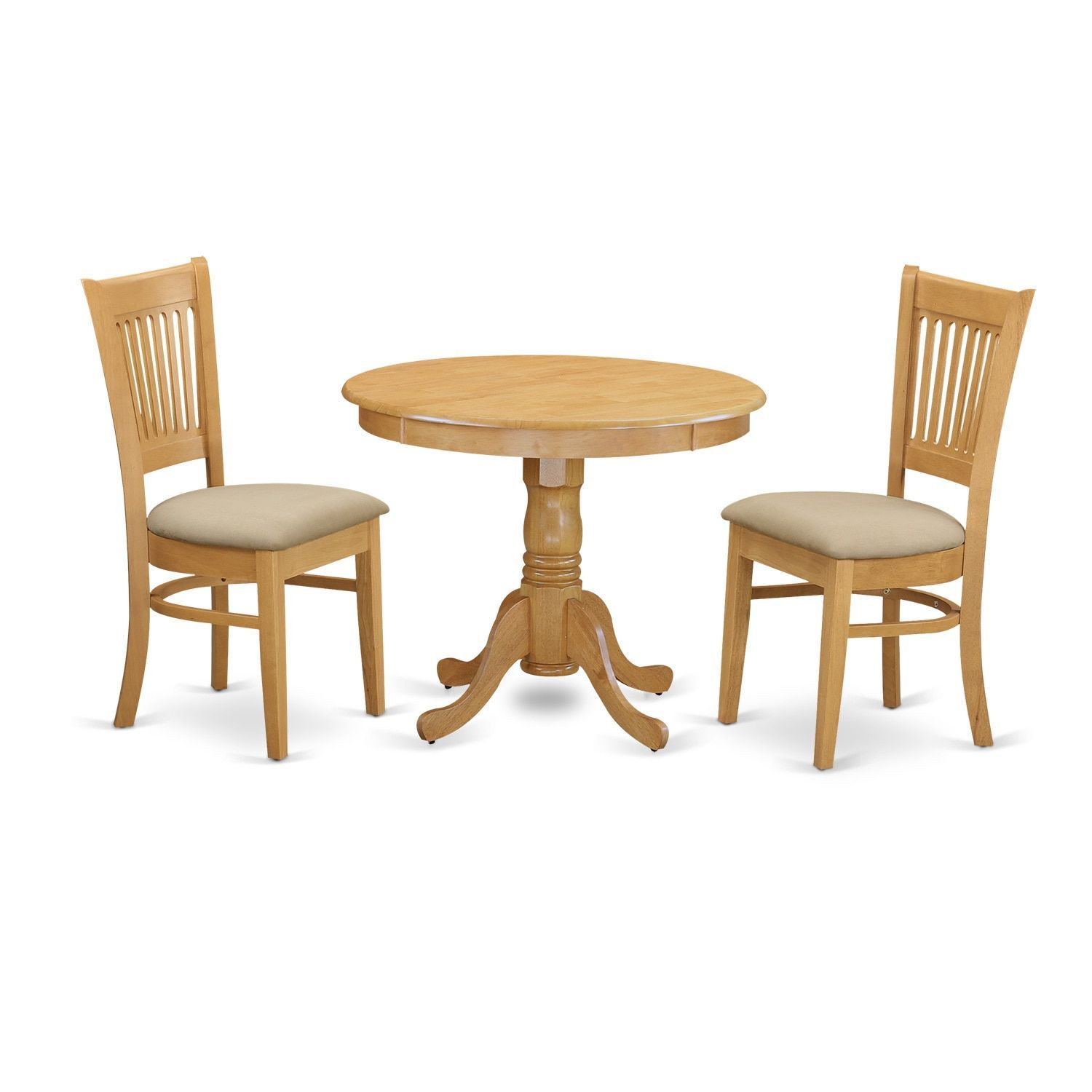 3 piece kitchen set 33 sink table and 2 dining chairs dinette wood seat microfiber gold size sets