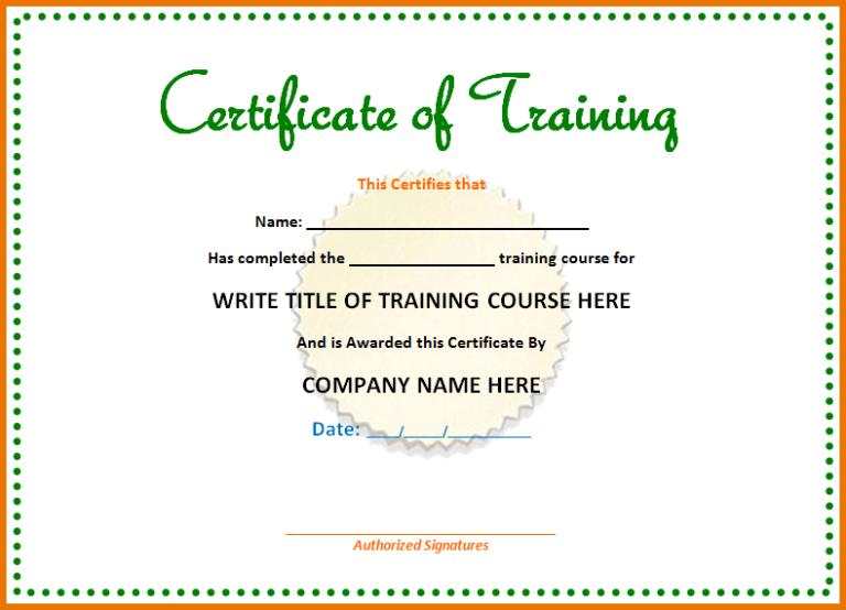Microsoft Office Certificate Templates Free (5