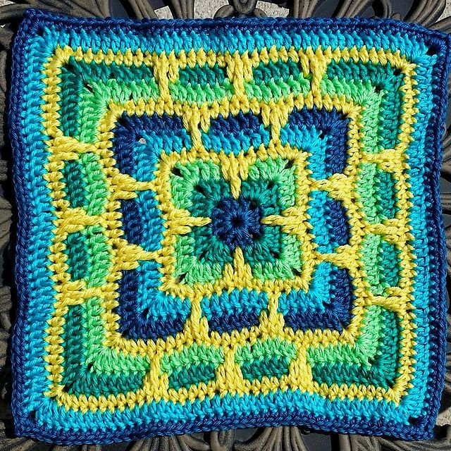 Larksfoot Inspired Free Pattern ᛡ Muster Anleitungen Granny