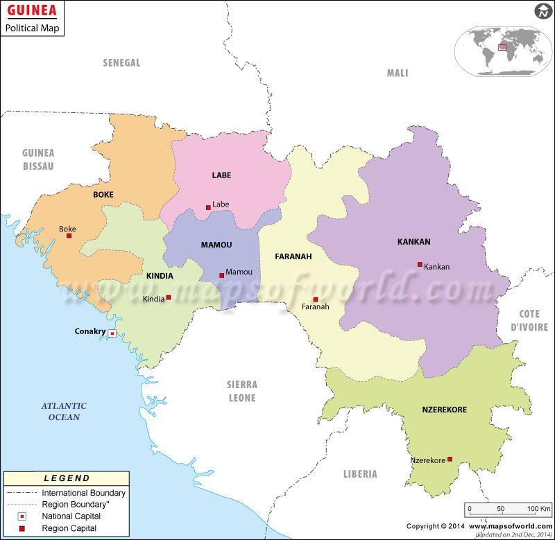 Guinea Mapa de Guinea Guinea conakry Guinea africa and Africa