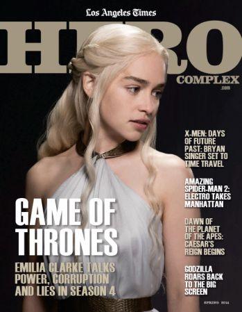 'Game of Thrones' star Emilia Clarke covers new Hero Complex magazine