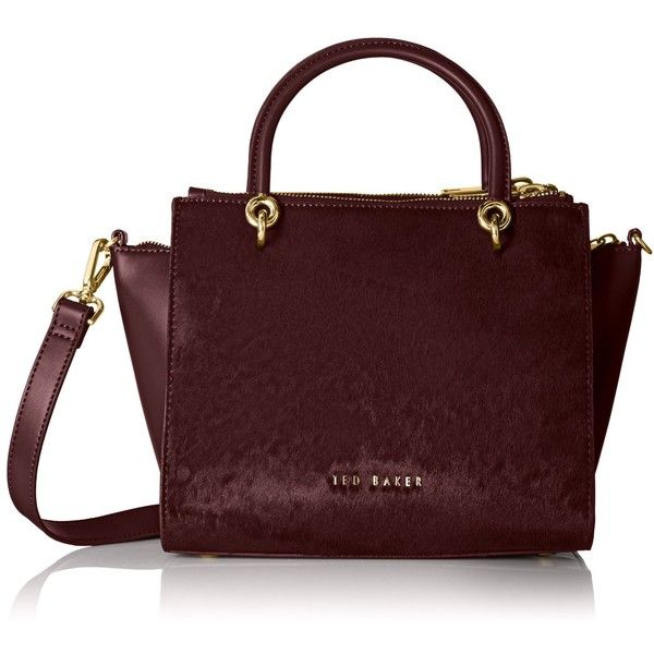 Ted Baker Haylie Top Zip Convertible Tote Bag featuring polyvore, fashion, bags, handbags, tote bags, convertible tote, ted baker, zip top tote bag, ted baker tote bag and zip top tote