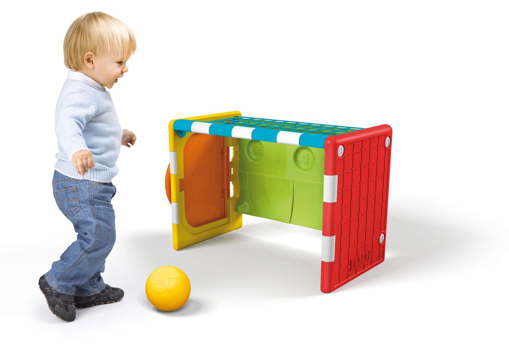 Football Toys For Boys : Feber sports cube different sports football basketball and