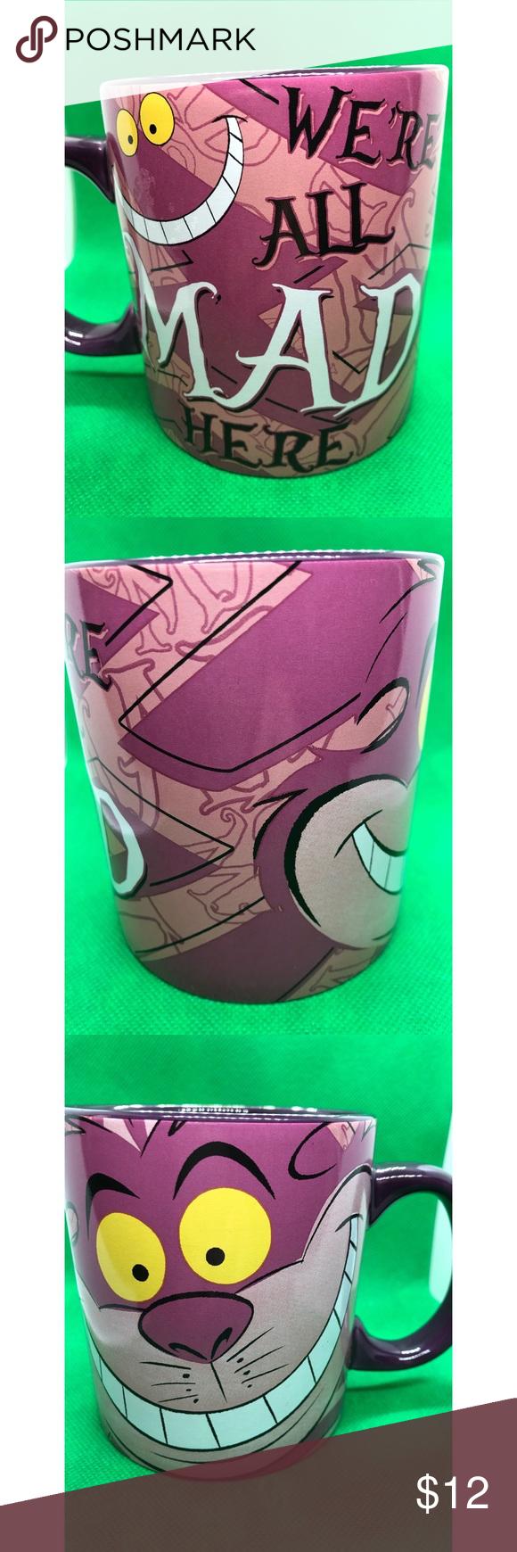 Disney Coffee Mug Disney Coffee Mug - We're All Mad Here Other #disneycoffeemugs