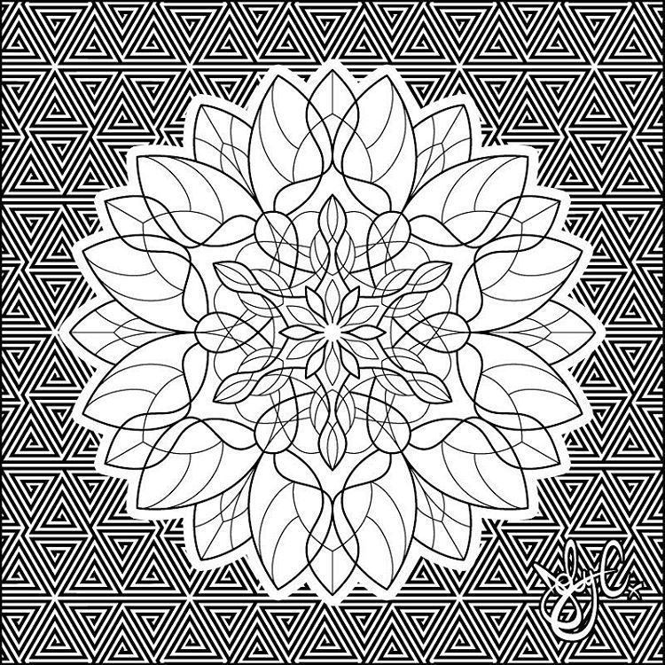jobyc -  #Mandala 040 of my #365project #sacredgeometry #lotus #lotusmandala   - #cattattoo #fingertattoo #flowertattoo #jobyc #mandalatattoo #naturetattoo #shouldertattoo #sunflowertattoo #thightattoo