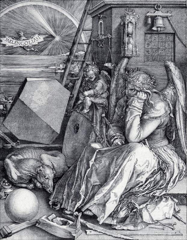 Albrecht Durer Melancholia Art De La Renaissance Dessin Gravure