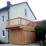 MAX Holzwerk bicycle balcony, # timber lumber balcony # bicycle balcony #wood wood #MAX  – Anbau Haus