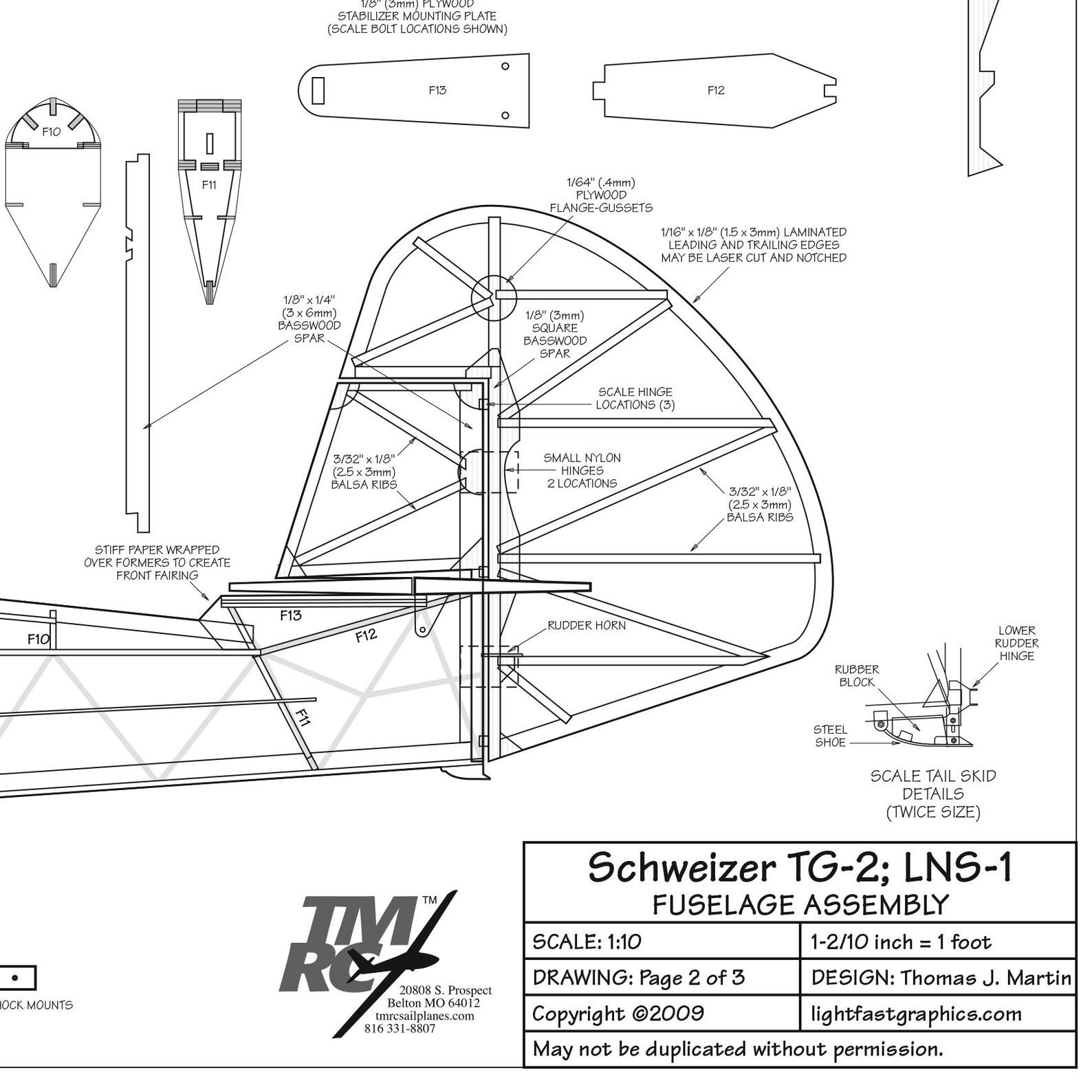 Schweizer 62 4 1 6m Tg 2 Lns 1 Schweizer Sgs 2 8 1 10 Museum Scale Balsa Sailplane Model Plans With Patterns Templates To Make Parts V 2020 G Aviaciya Modeli