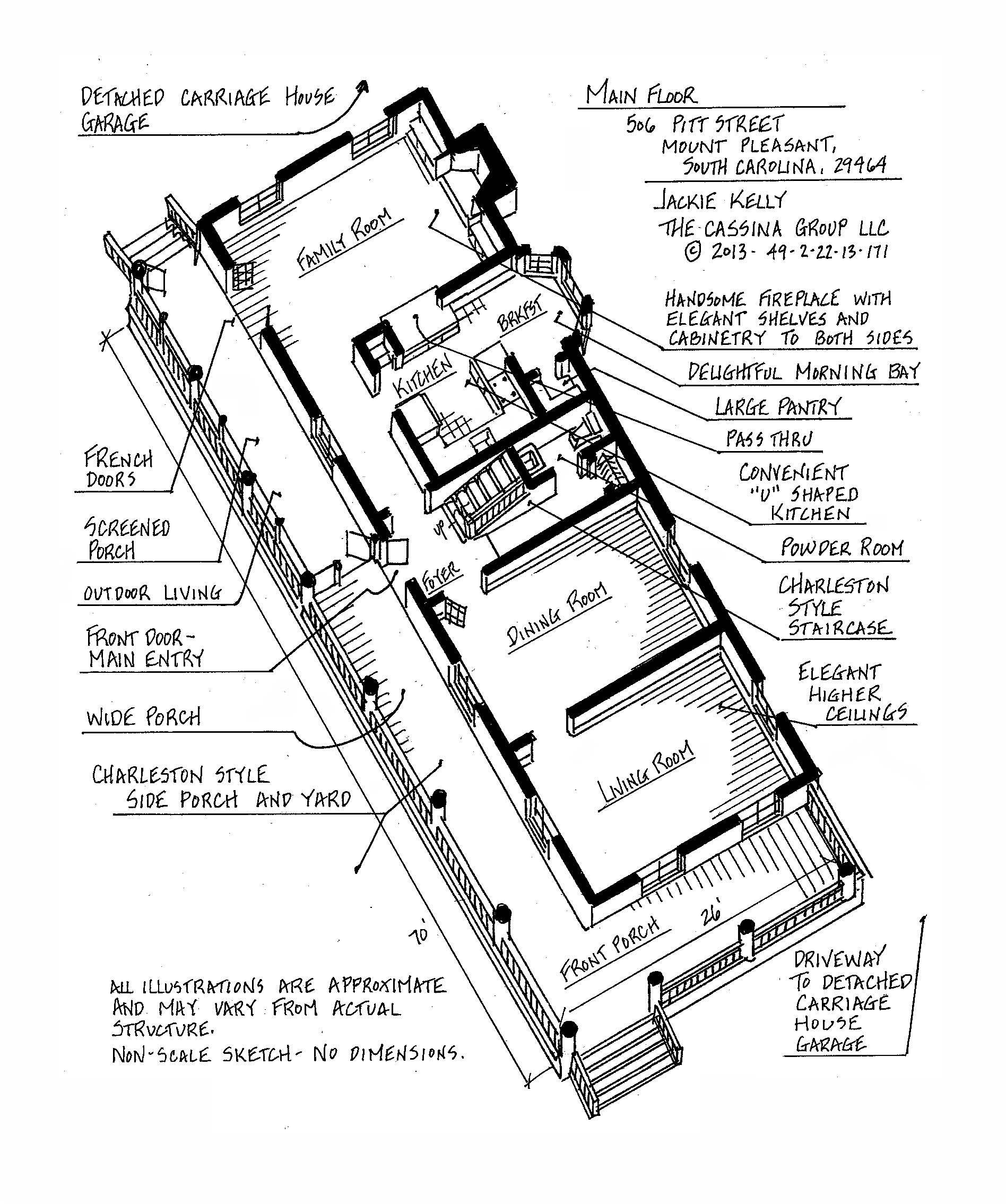 506 Pitt Street Floor Plans