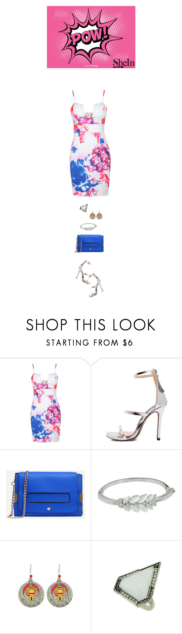 """""""Shein pow"""" by blueeyed-dreamer ❤ liked on Polyvore featuring contest, Heels, dress and shein"""