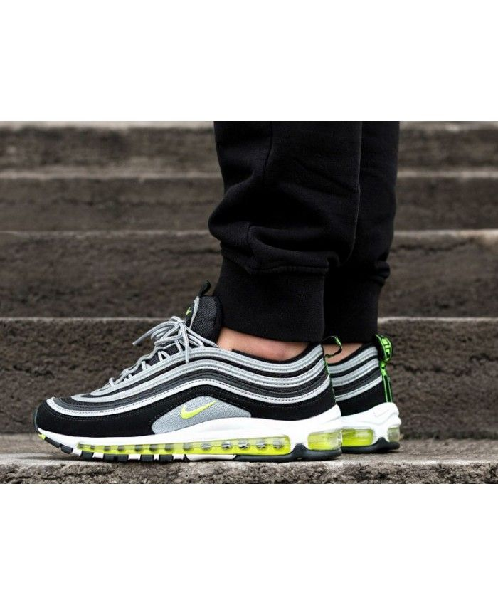 Outlet Nike Air Max 97 OG BlackVolt Metallic Silver White