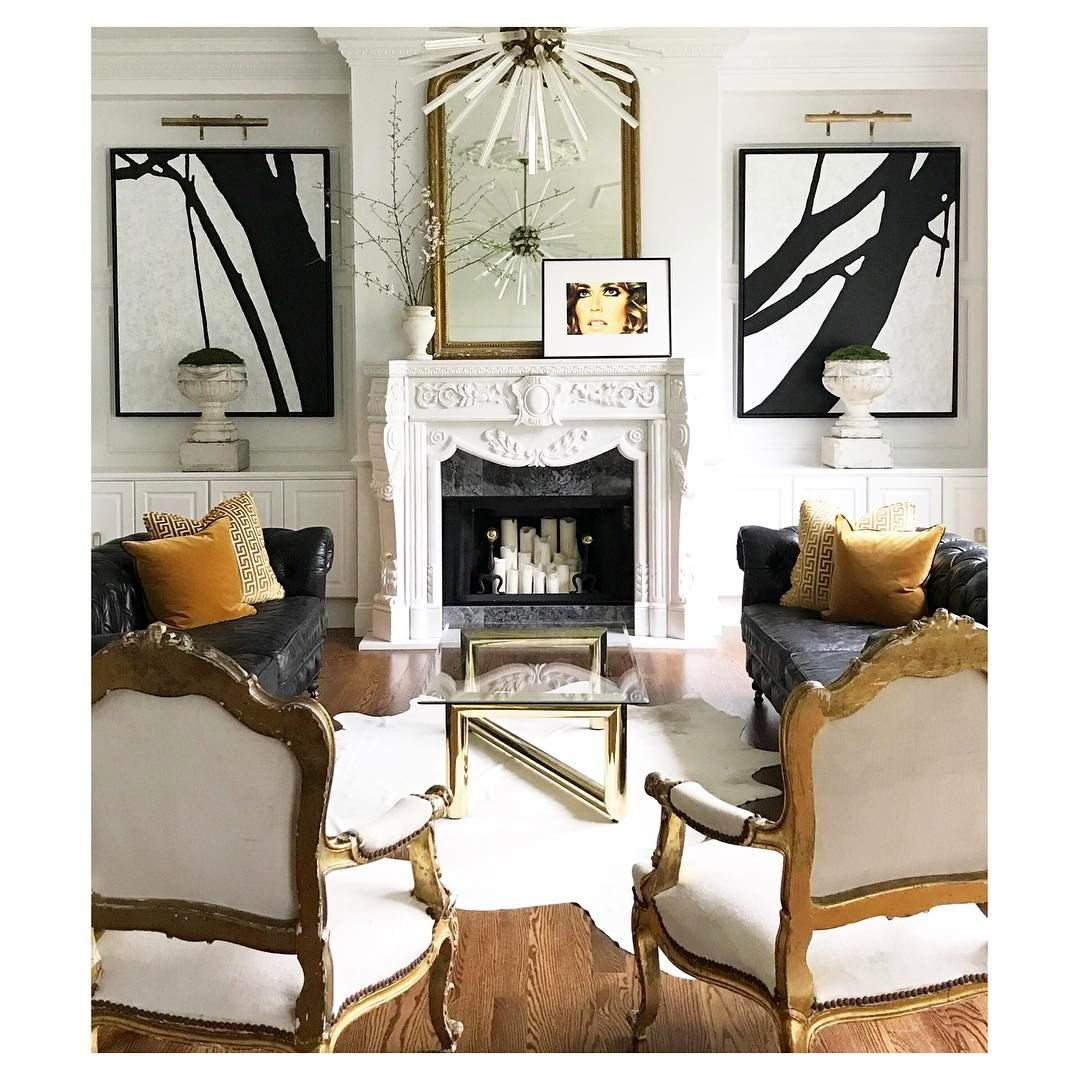 242 Likes 15 Comments Jessie D Miller Designdaredevil On Instagram Behind The Scenes Claytonroadcustom Jdmd Family Room Fireplace Family Room