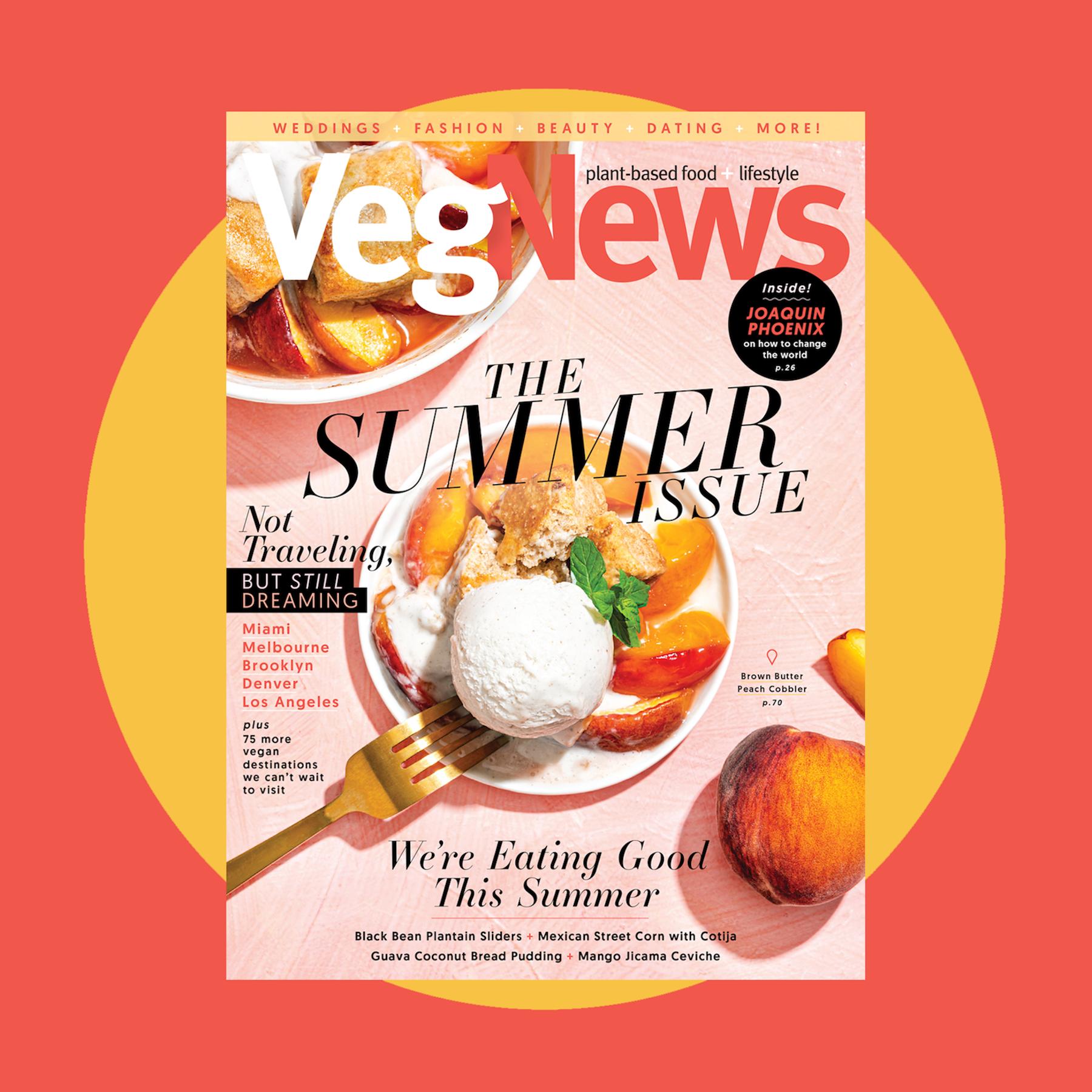 The 2020 Summer Issue 123 In 2020 Tropical Food Vegan Restaurants Vegan Chef