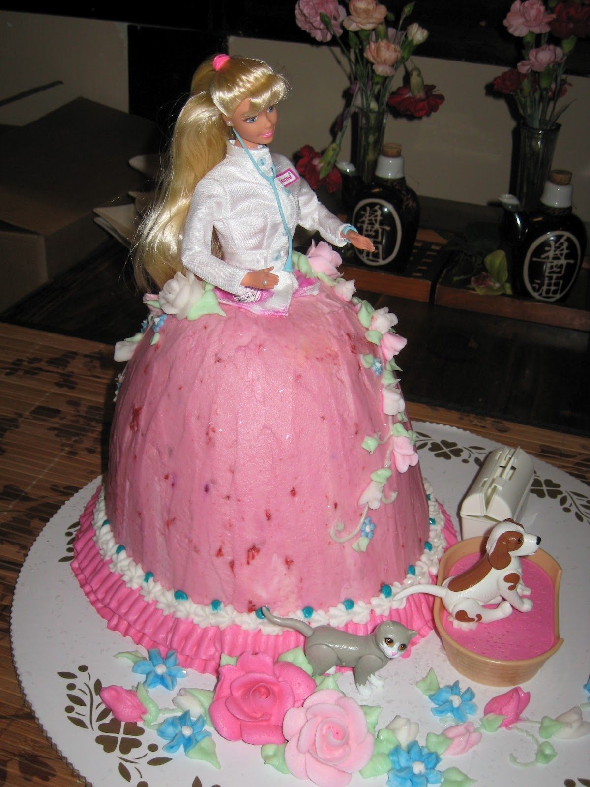 graduation cakes   yes that is a pet doctor barbie graduation cake i graduated you may ...