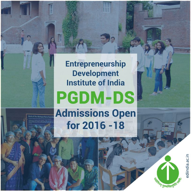 Are you looking for a #career in social transformation and grassroot entrepreneurship?  Apply for our #PGDMDS program: http://ediindia.ac.in/new/PGDM-DS-Apply-online-2016/ For more info: http://ediindia.ac.in/new/PGDM-DS.asp