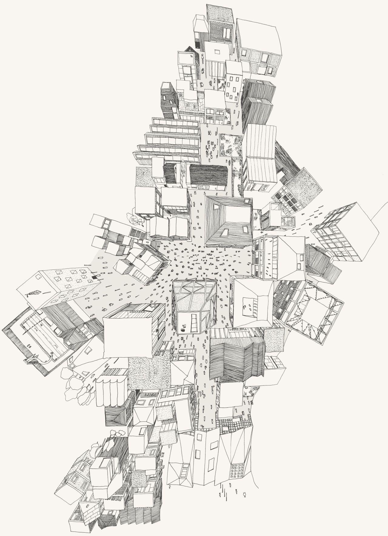 Neil Michels A Future High Street Pen The Drawing