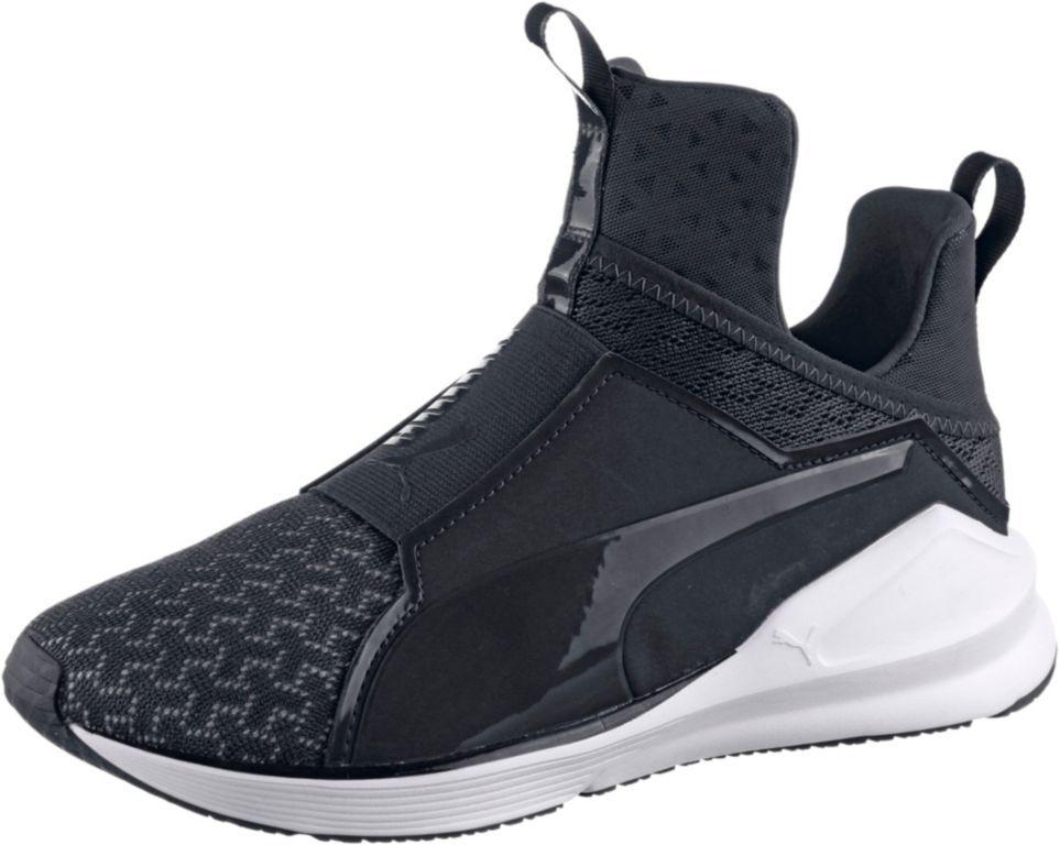 #PUMA Fierce Fitnessschuhe Damen schwarz/weiß #Damen, #Fitnessschuhe, # Schuhe