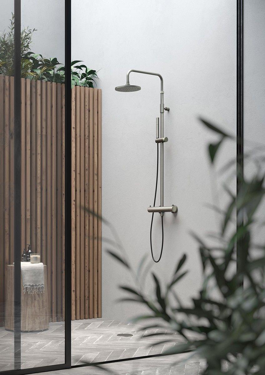 Thermostatdusche Waterline W55 FONTEALTA Outdoor