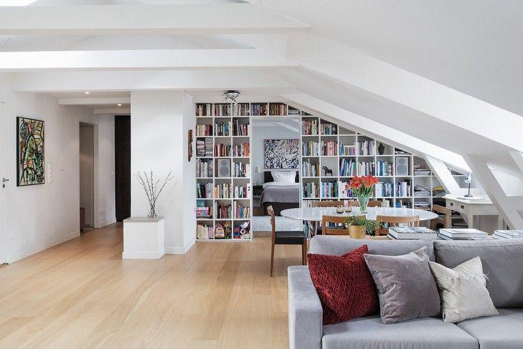 55 Dachschräge Ideen – Möbel geschickt im Raum platzieren | Home ...