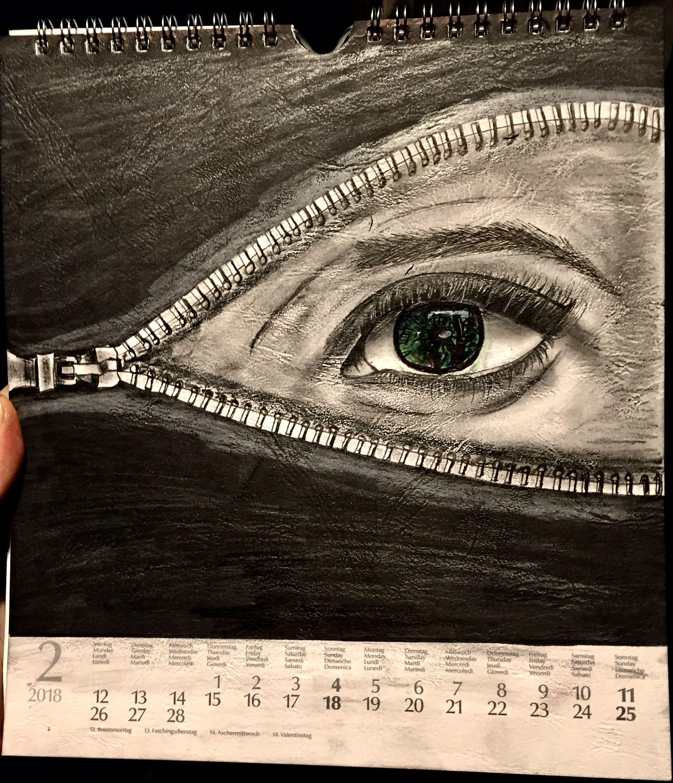 Auge Gezeichnet Augen Zeichnen Zeichnen Und Augen