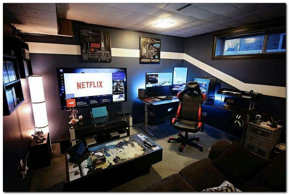 100 Cool Interior Design Ideas For Gamers Video Game Rooms
