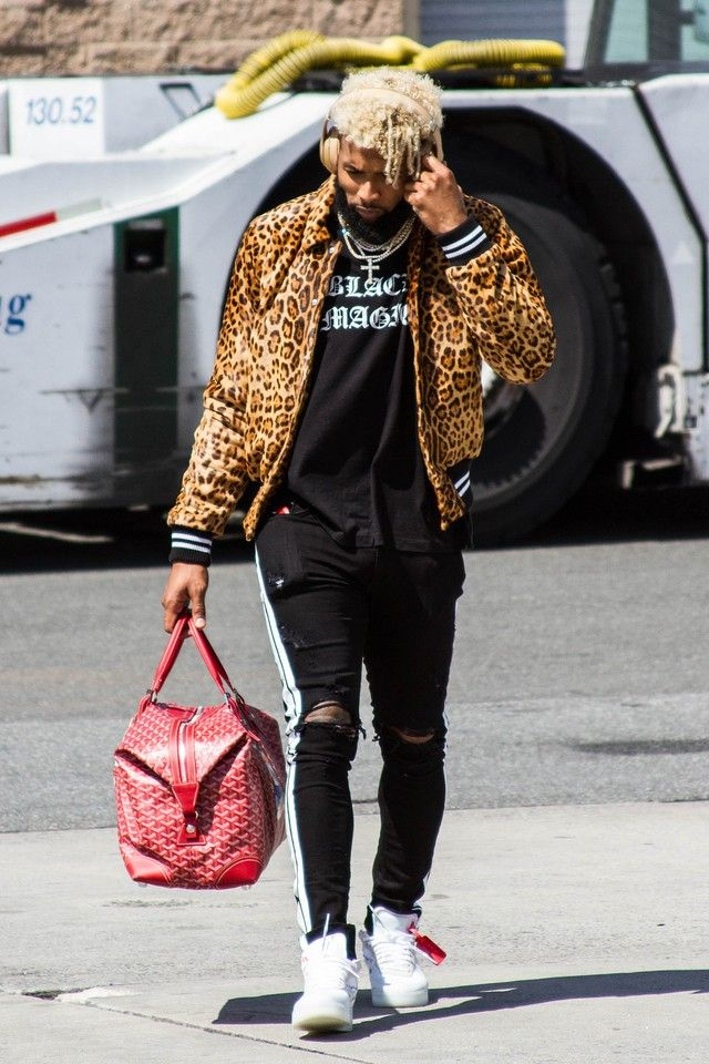 a3a4f8f7f Odell Beckham Jr. - Jet set attire on in 2019