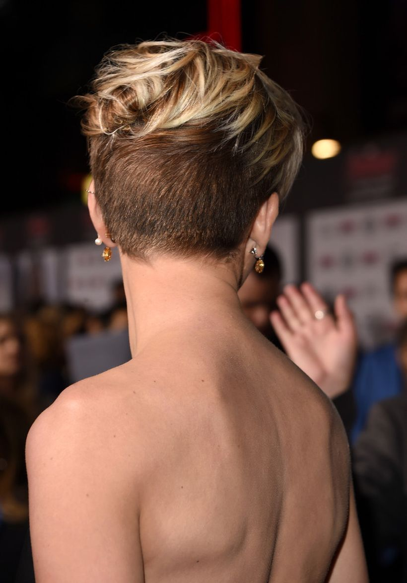 cool back view of undercut pixie haircut hairstyle ideas