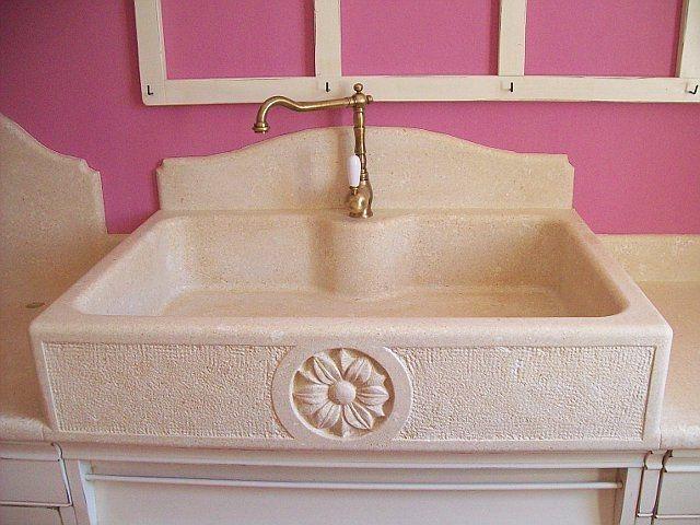 Lavello da cucina in pietra, lavelli su misura per la casa - Padova ...