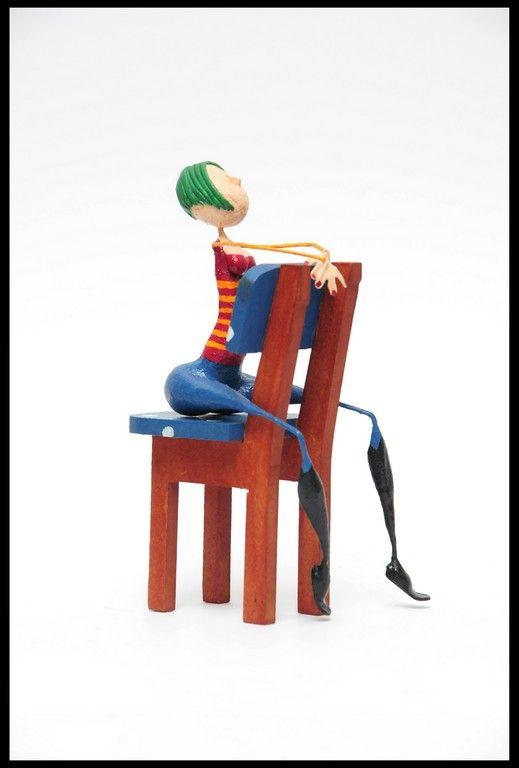 Esculturas en Papel Mache, $200 en https://ofeliafeliz.com.ar