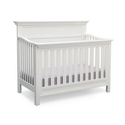 Serta Fairmount 4-in-1 Convertible Crib Color: Bianca