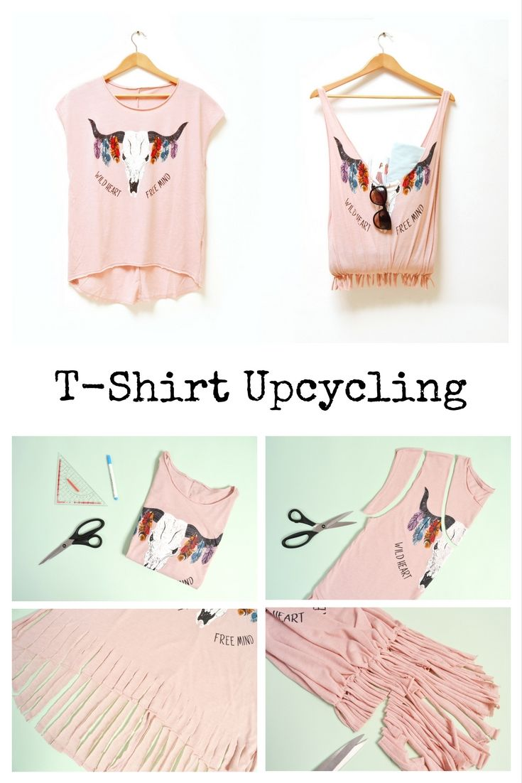 8 DIY Fashion Upcycling Ideen | Pinterest | Upcycling ideen, Diy ...