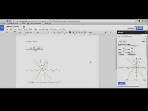 Mathematical Formulas? You need the g(Math) add-on for Google Docs
