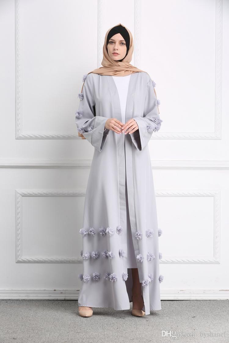 a7dffb95a8 whatsapp +8615816292652  byshanel 2018 New Stylish Women s Elegant Modest  Muslim Full Length 3D