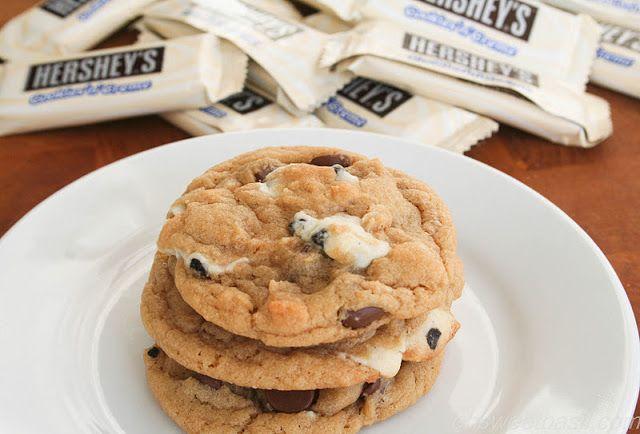 Cookies N Creme Chocolate Chip Cookies. ohsweetbasil.com