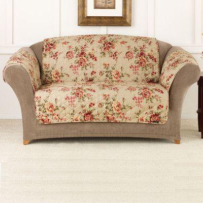 Cool Sure Fit Lexington Loveseat Slipcover T Cushion Multi Ncnpc Chair Design For Home Ncnpcorg
